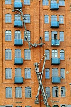 Restaurated warehouses, Hamburg, Germany