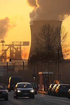 Steelworks Krupp Mannesmann Steelworks in Duisburg, North Rhine-Westphalia, Germany, Europe
