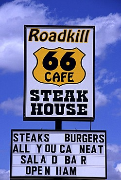USA, United States of America, Arizona: Historic Route 66, near Seligman.