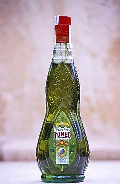 ESP, Spain, Balearic Islands, Mallorca : a speciality from Mallorca, a herb-flavored liqueur called Hierbas.
