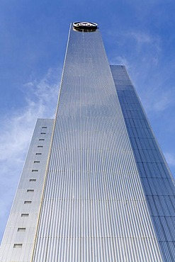 ThyssenKrupp high-rise, Duesseldorf, NRW, Germany
