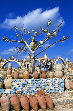 Pottery, Guellala, Djerba, Tunisia, Africa