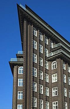 Chilehaus at Hamburg, Germany