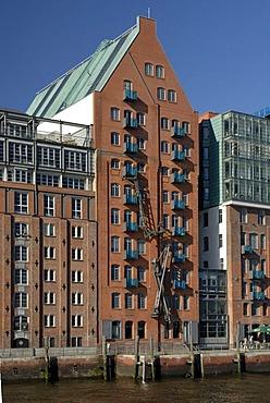 Former warehouse Stadtlagerhaus near St. Pauli, Hamburg, Germany