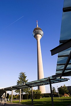 Telecommunications-tower, Duesseldorf, North Rhine- Westphalia, Germany