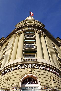 Bern - Bellevue Palace hotel - Switzerland, Europe.