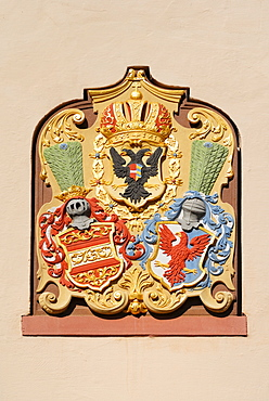 Historical coat of arms, Villingen, Baden-Wuerttemberg, Germany, Europe