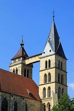 Saint Dionysius' City Church, Esslingen am Neckar, Baden-Wuerttemberg, Germany, Europe