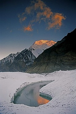 The mountain range Central Tian Shan is located in Kazakhstan