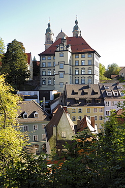 New city museum, church of the holy cross, Landsberg am Lech, Upper Bavaria, Germany