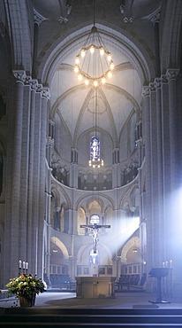 Cathedral of Limburg or Limburger Dom inside, Georgsdom, Hesse, Germany.
