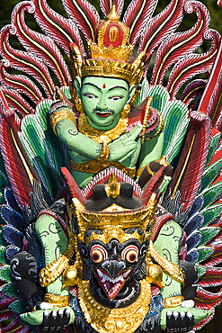 Temple Guard, Garudas with Nagas in his claws, riding animal of the Vishnu, Bali