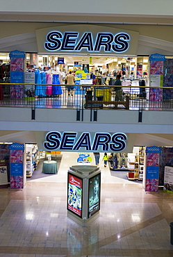 Sears department store at a shopping mall in Texas, USA