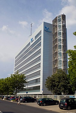 The Hessian Broadcasting Radio and TV Station, member of the ARD, public working group of TV organisations, Frankfurt, Hesse, Germany, Europe