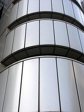 Leipzig, Germany, modern architecture at the Listplatz