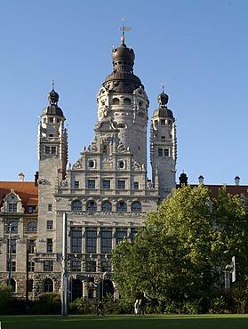 New town hall, Leipzig, Saxony, Germany