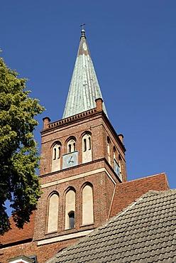 Virgin Mary church, Marienkirche, Ruegen, Rugia, Mecklenburg-Western Pomerania, Germany