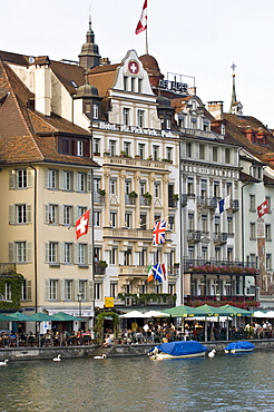 Old town of Lucerne, canton Lucerne, Switzerland