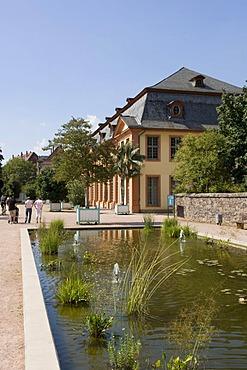 Orangery and park, Darmstadt, Hesse, Germany
