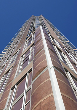 Messeturm Tower by Tishman Speyer, Frankfurt, Hesse, Germany, Europe
