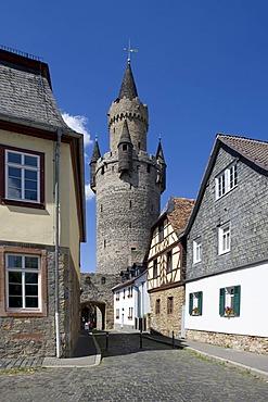 Adolfsturm Tower, Friedberg, Wetterau, Hesse, Germany