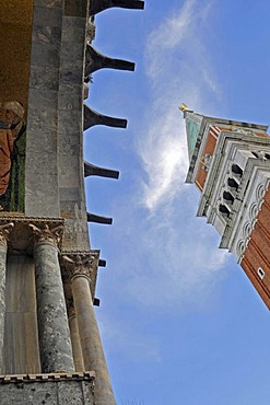 View of the Campanile, Piazza San Marco Square, Venice, Italy, Europe