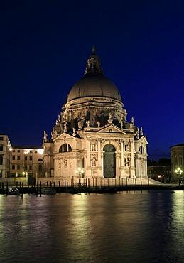 Basilica di Santa Maria della Salute at Canal Grande, Venice, Italy Venice, Veneto, Italy