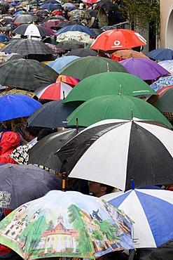 Umbrellas Landshut Germany