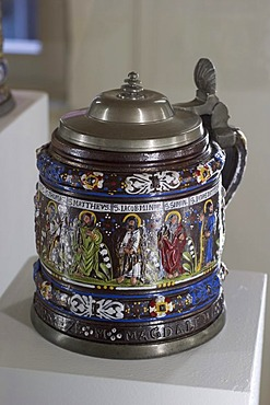 Jug with 12 apostles - jugs museum in Creussen - Franconia - Germany