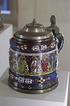 Jug with 12 apostles - jugs museum in Creussen - Franconia - Germany