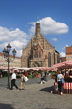 Frauenkirche Church of Our Lady Hauptmarkt - Nurnberg Bavaria Germany