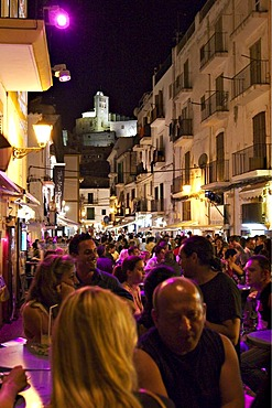 Night life in Ibiza Town