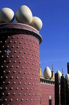 Dali museum, Figueres, Costa Brava, Catalonia, Spanien