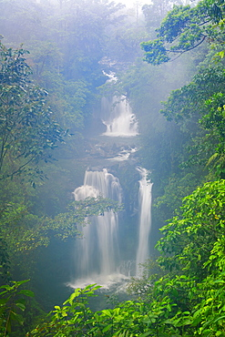 Waterfall, Rara Avis, Las Horquetas, Costa Rica