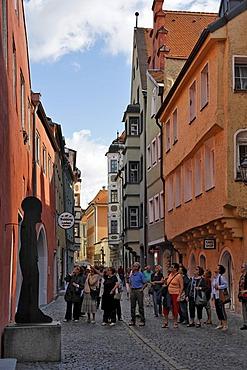 Obere Bachgasse, Regensburg, Upper Palatinate, Bavaria, Germany