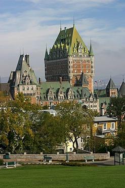 Hotel Chateau Frontenac, Quebec, Canada.