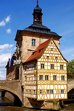 Old Town Hall, Bamberg, Upper Franconia, Bavaria, Germany, Europe