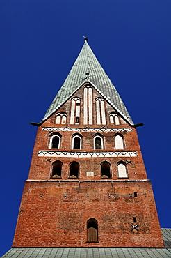 Tower of the Johannis Church, Lueneburg, Lower Saxony, Germany, Europe