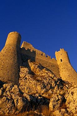 Rocca Calascio, Castel del Monte, Abruzzo, Italy