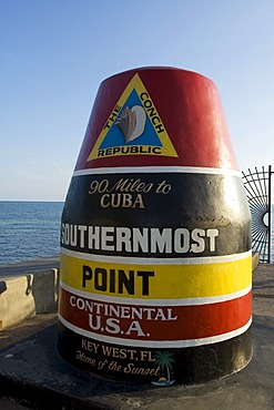 Southernmost point of the USA, Key West, Florida, USA