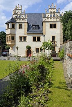 Small Castle of Kitzerstein, Saalfeld, Thuringia, Germany, Europe
