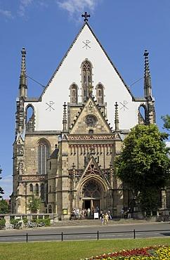 Thomaskirche Church, Leipzig, Saxony, Germany, Europe