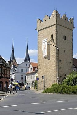 Darrtor Gate, Saalfeld, Thuringia, Germany, Europe