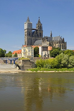 Saint Mauritius Saint Katharina Cathedral, Magdeburg, Saxony-Anhalt, Germany, Europe
