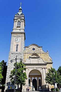 Georgenkirche Church, the baptismal church of Johann Sebastian Bach, Eisenach, Thuringia, Germany, Europe