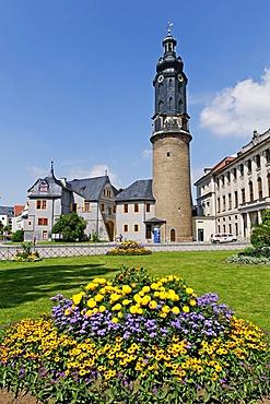 Residential Palace, Weimar, Thueringen, Deutschland, Europa