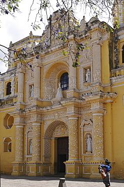 La Merced Church, Antigua Guatemala, Guatemala, Central America