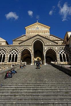 Cathedral of Amalfi, Duomo di Amalfi, Campania, Italy, Europe