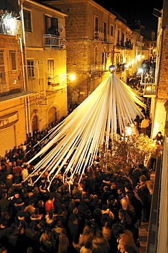 Lu Signuri di li fasci, Holy Week, Easter Procession, Pietraperzia, Sicily, Italy, Europe