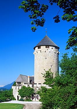 Schloss Matzen, Matzen Castle, Brixlegg, Tyrol, Austria, Europe